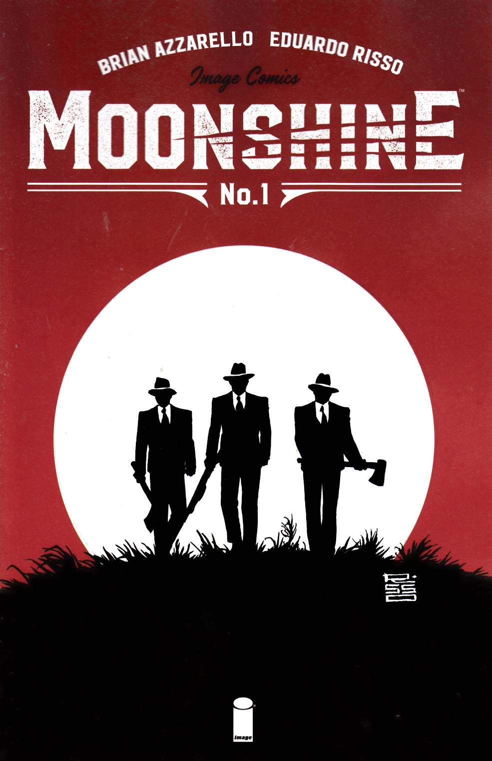 Moonshine #1 Cover A [Image Comic]