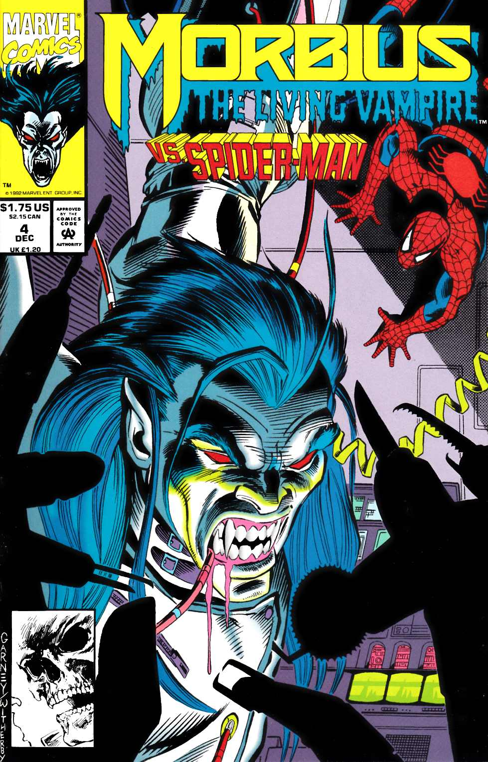Morbius the Living Vampire #4 Near Mint (9.4) [Marvel Comic] THUMBNAIL