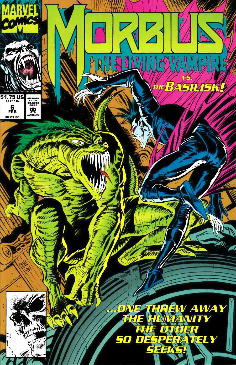 Morbius the Living Vampire #6 Near Mint (9.4) [Marvel Comic] THUMBNAIL