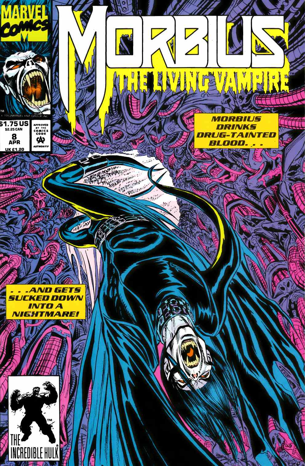 Morbius the Living Vampire #8 Very Fine (8.0) [Marvel Comic] THUMBNAIL