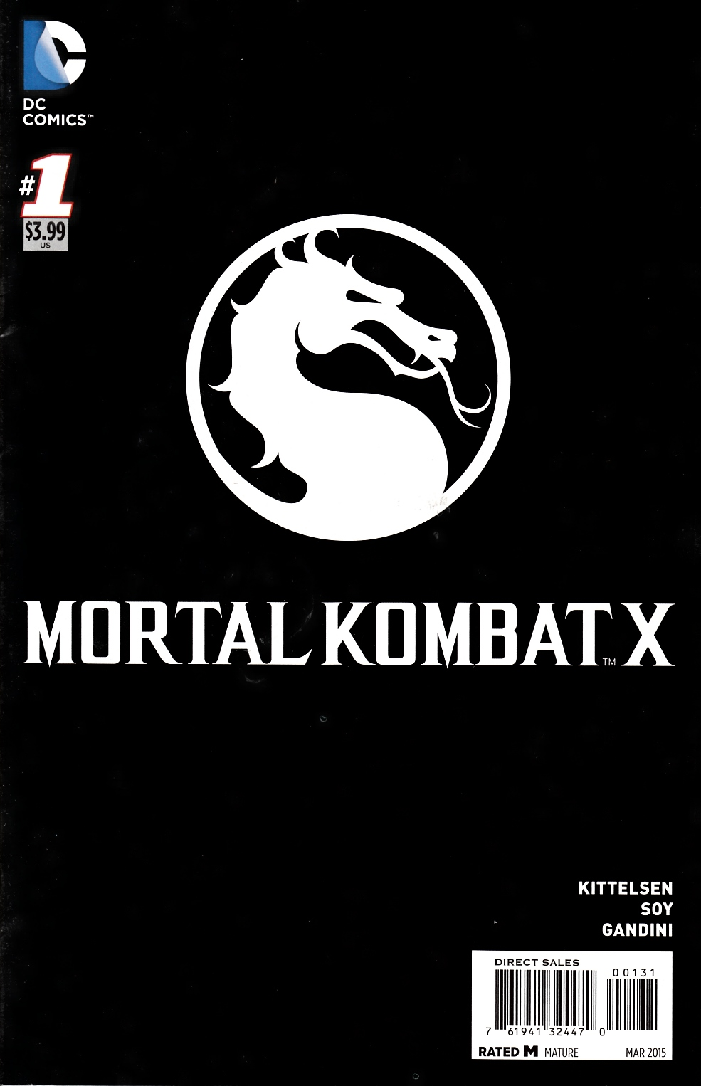 Mortal Kombat X #1 Video Game Variant Cover [DC Comic]_THUMBNAIL