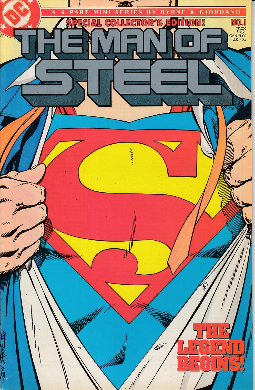 Man of Steel #1 Very Fine (8.0) [DC Comic] THUMBNAIL