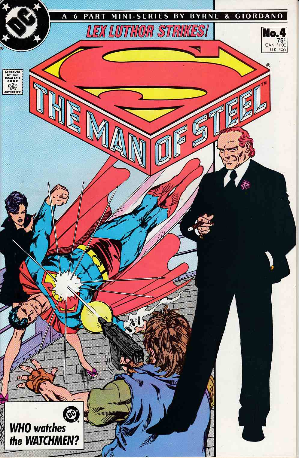 Man of Steel #4 Near Mint (9.4) [DC Comic] THUMBNAIL