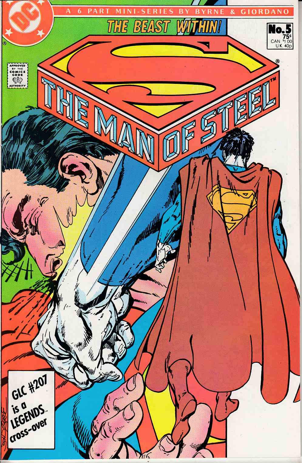 Man of Steel #5 Very Fine (8.0) [DC Comic] THUMBNAIL
