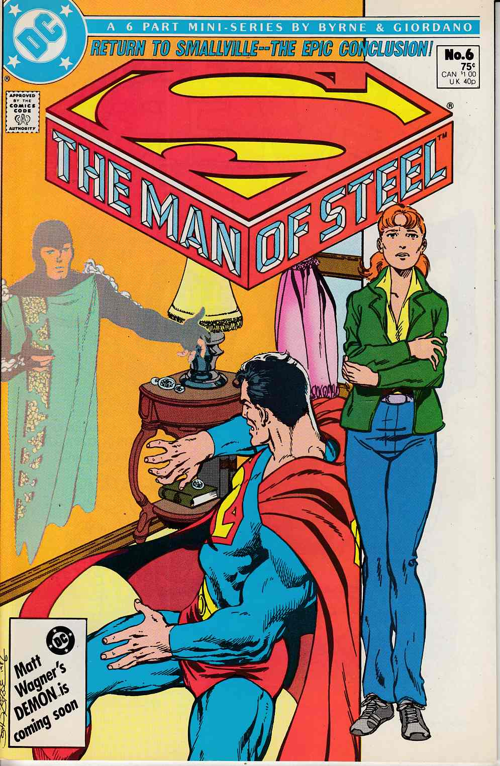 Man of Steel #6 Near Mint (9.4) [DC Comic] THUMBNAIL