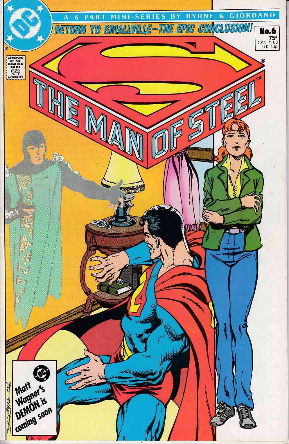 Man of Steel #6 Very Fine (8.0) [DC Comic] THUMBNAIL