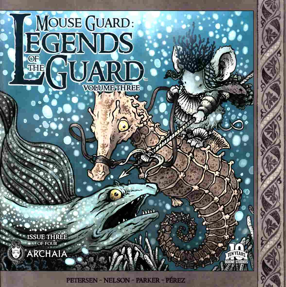 Mouse Guard Legends Of Guard Vol 3 #3 [Boom Comic] THUMBNAIL