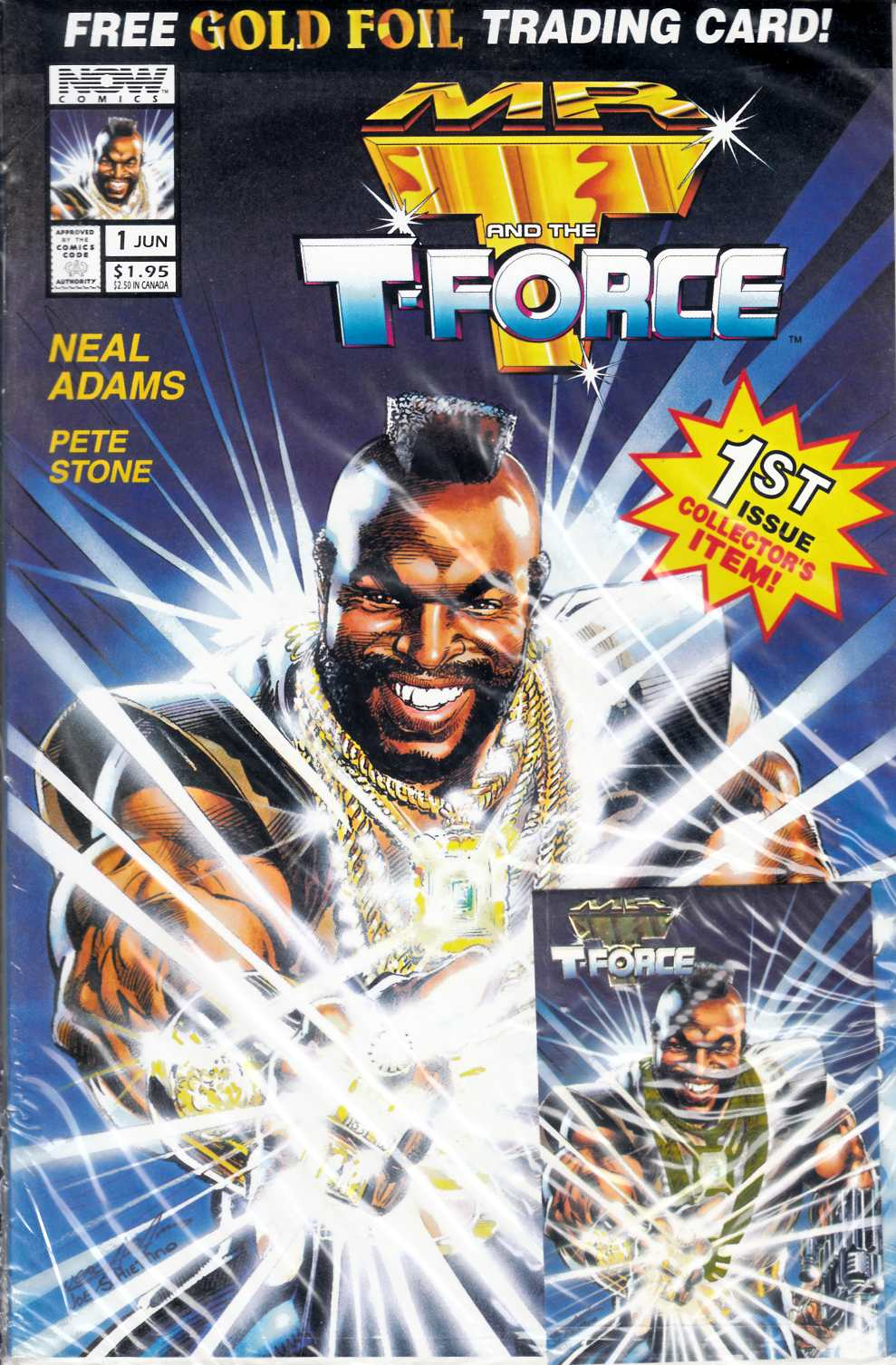 Mr T and the T Force #1 Near Mint (9.4) [Now Comic] THUMBNAIL