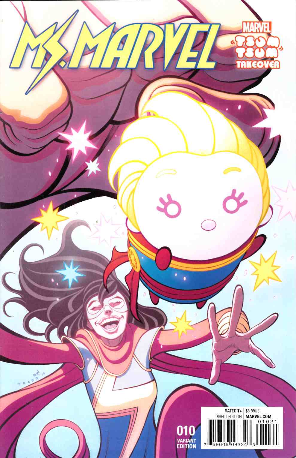 Ms Marvel #10 Moore Tsum Tsum Variant Cover [Marvel Comic] LARGE