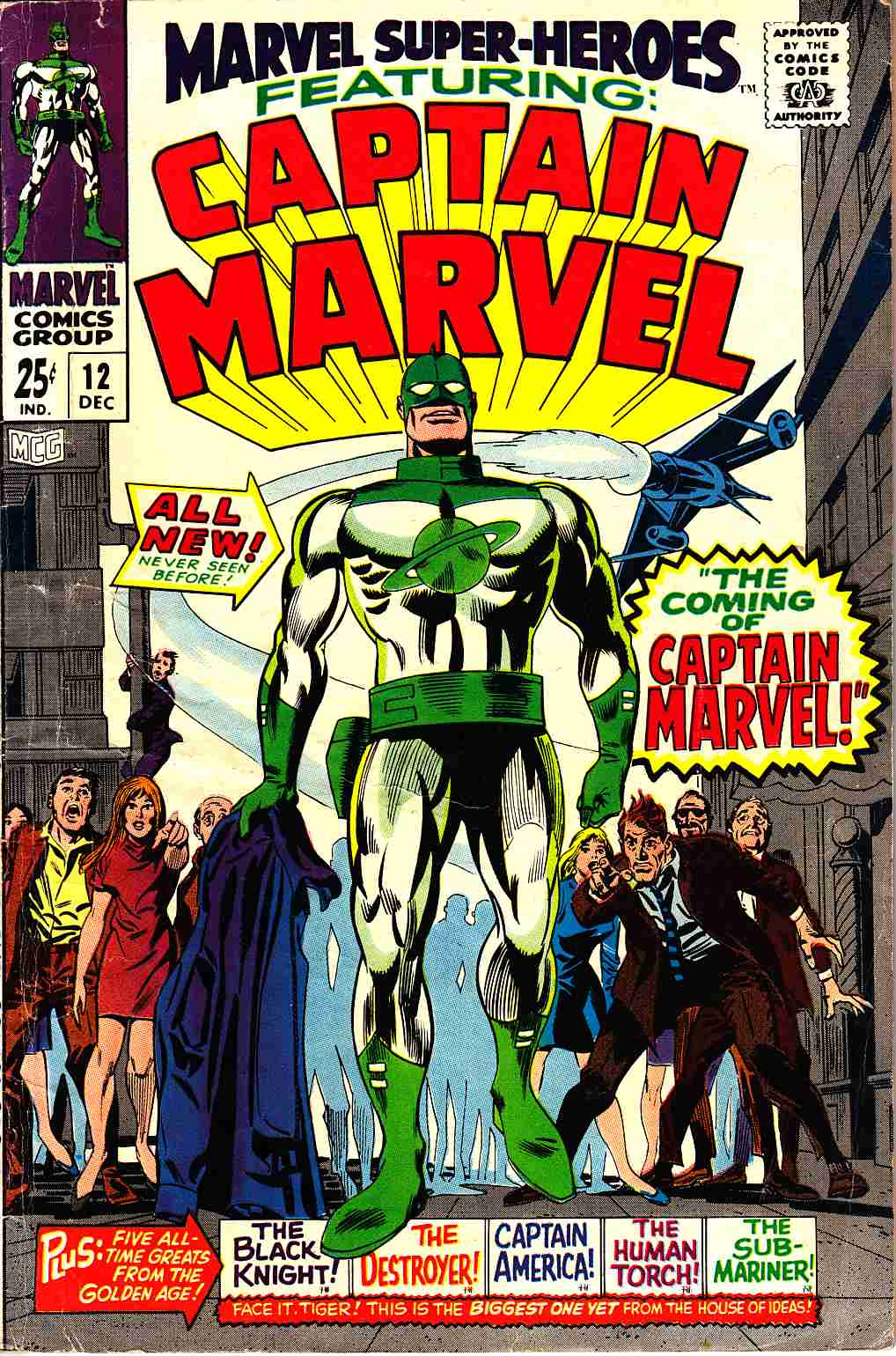 Marvel Super-Heroes #12 [Marvel Comic] LARGE