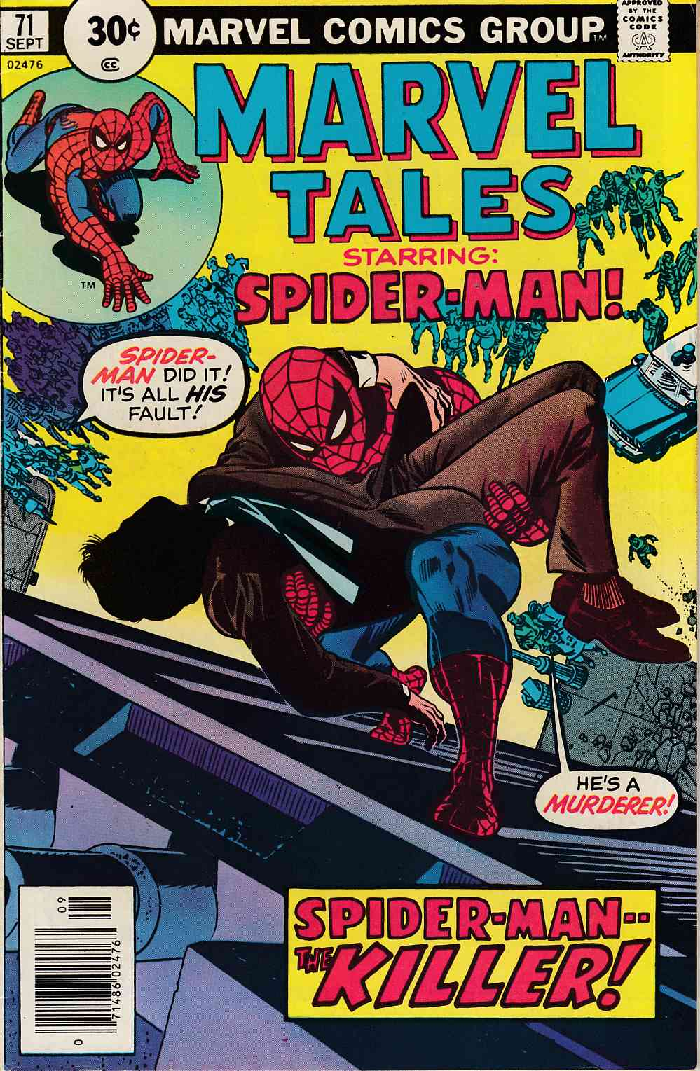 Marvel Tales #71 Fine (6.0) [Marvel Comic] LARGE