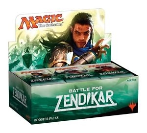 Magic the Gathering Battle For Zendikar Booster Box [Collectible Card Game]