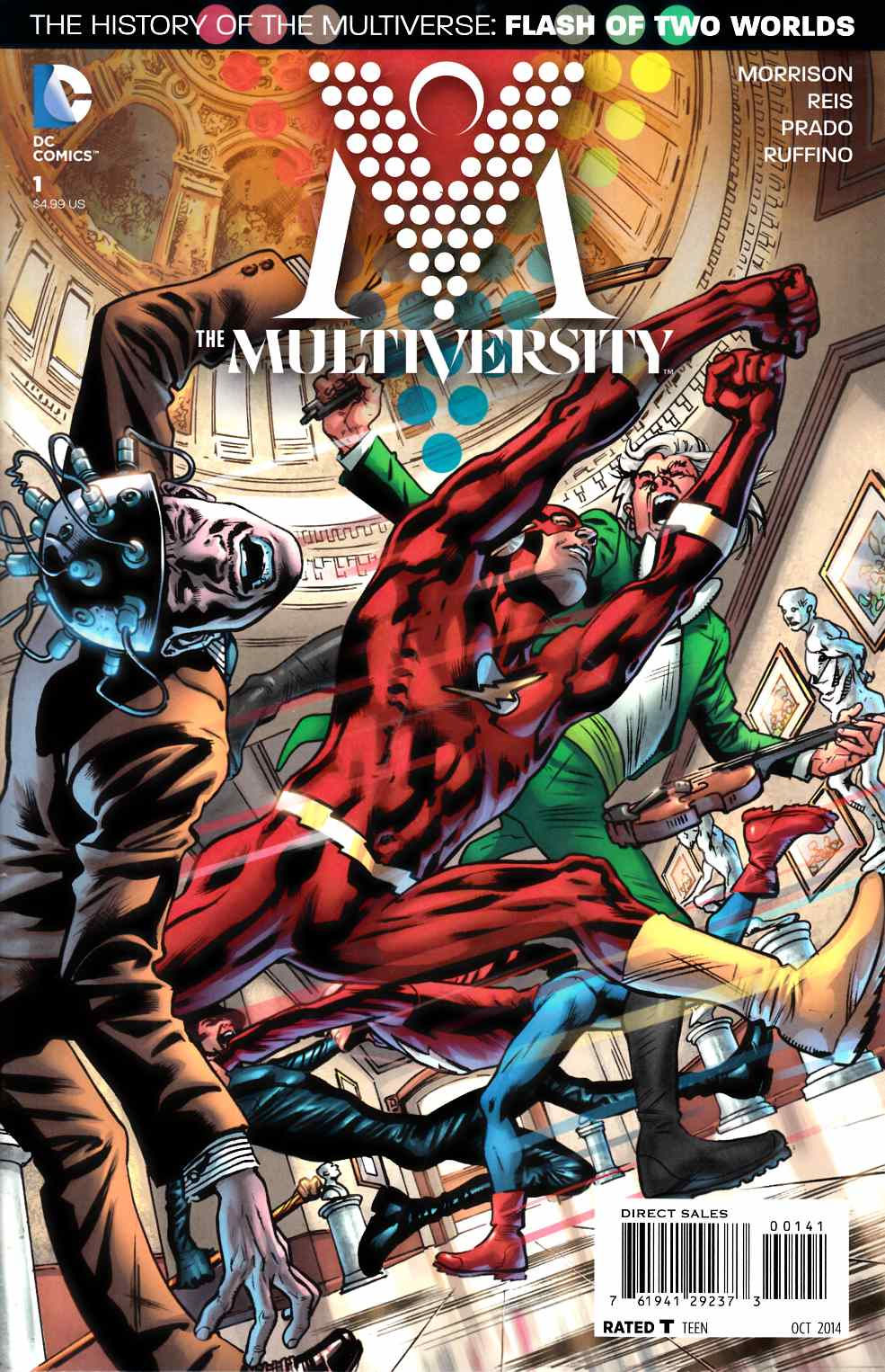 Multiversity #1 Bryan Hitch Variant Cover [Comic]_THUMBNAIL