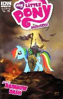 My Little Pony Micro Series #2 Rainbow Dash Cover B [Comic]