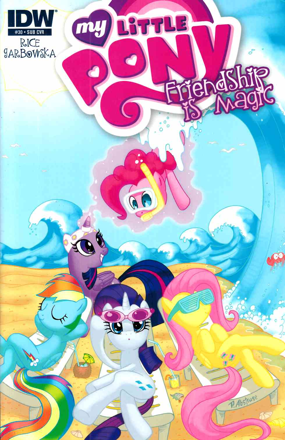 My Little Pony Friendship Is Magic #30 Subscription Cover [IDW Comic] THUMBNAIL