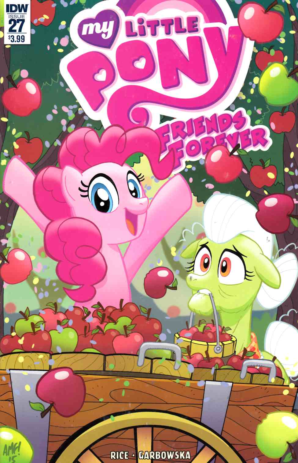 My Little Pony Friends Forever #27 [IDW Comic] LARGE
