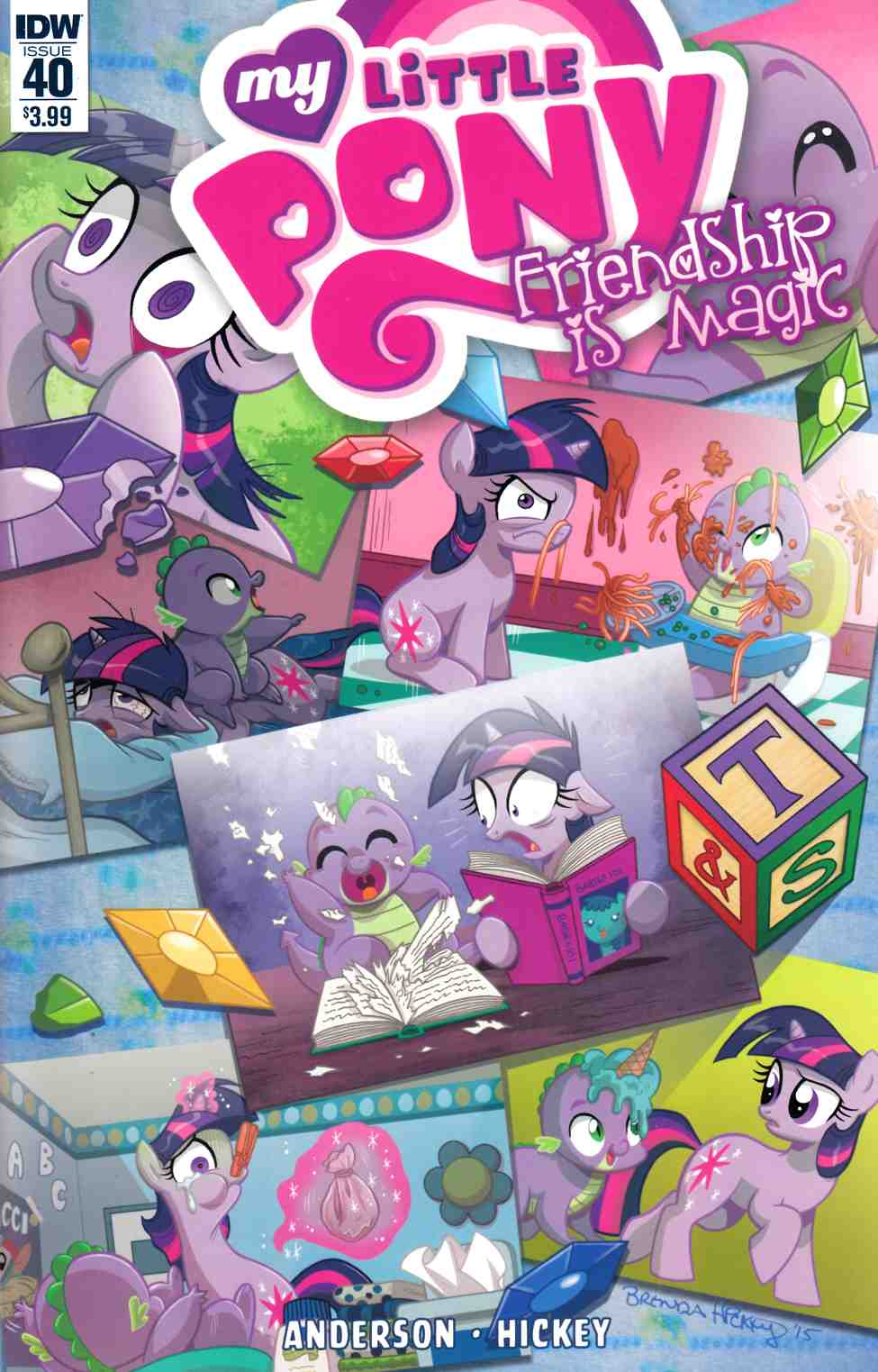My Little Pony Friendship Is Magic #40 [IDW Comic] THUMBNAIL