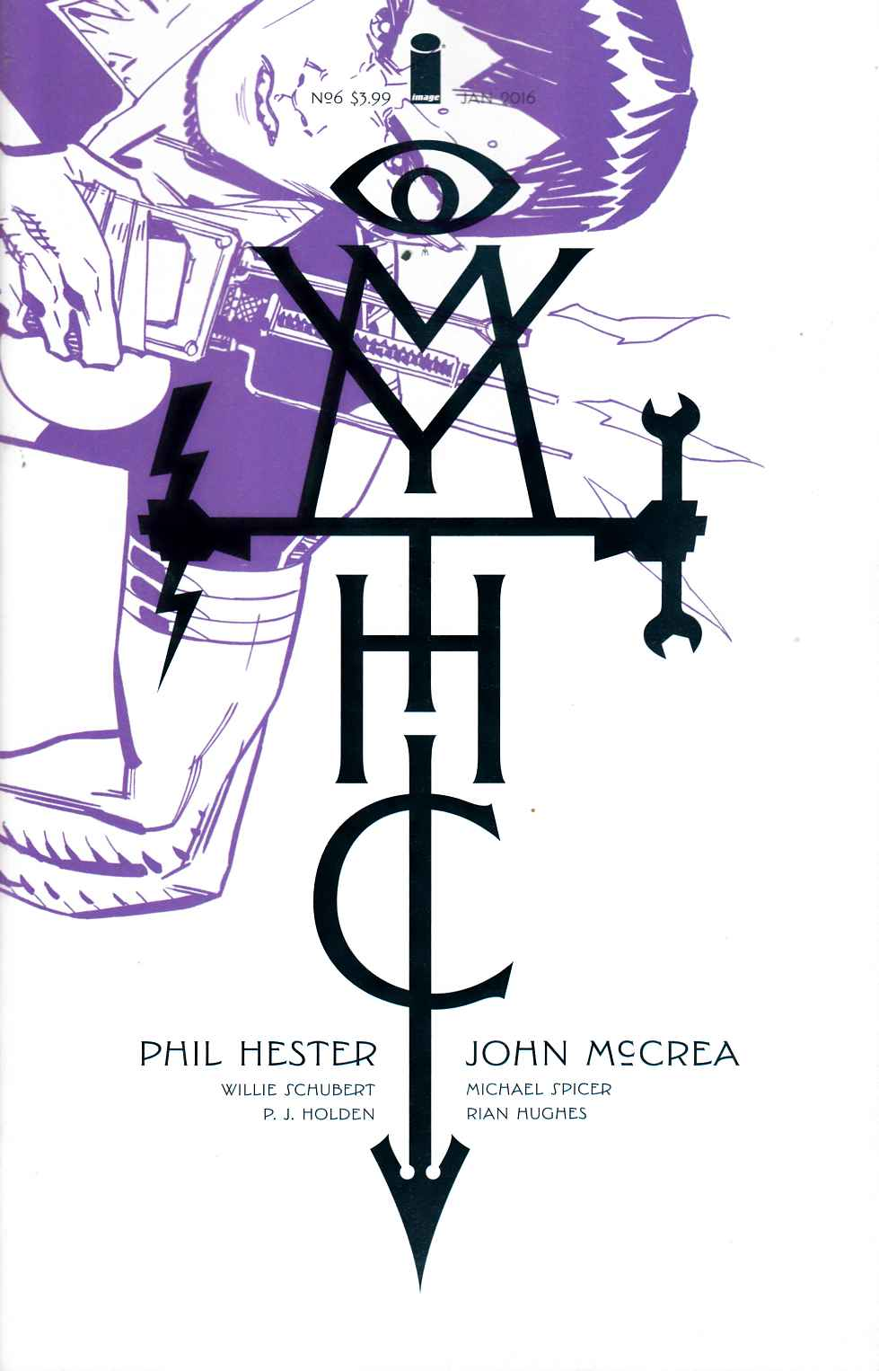Mythic #6 Cover A [Image Comic] LARGE