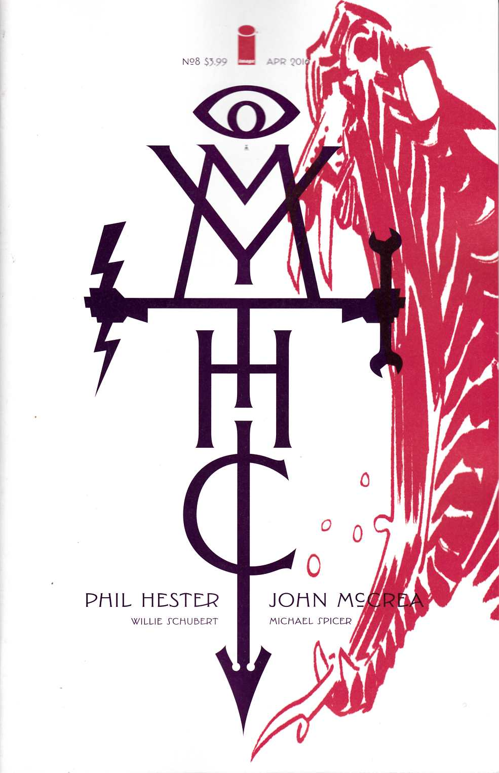 Mythic #8 Cover A [Image Comic] THUMBNAIL