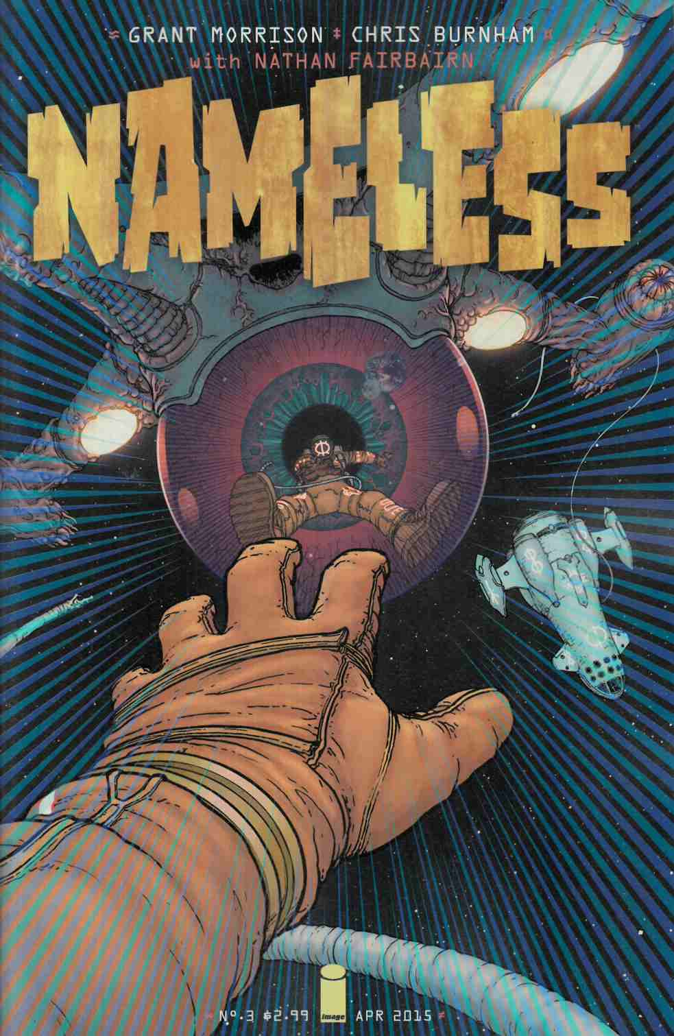 Nameless #3 [Image Comic] THUMBNAIL