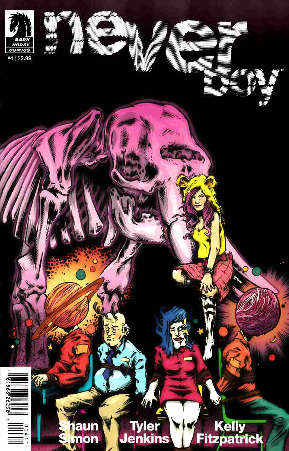Neverboy #4 [Dark Horse Comic] THUMBNAIL