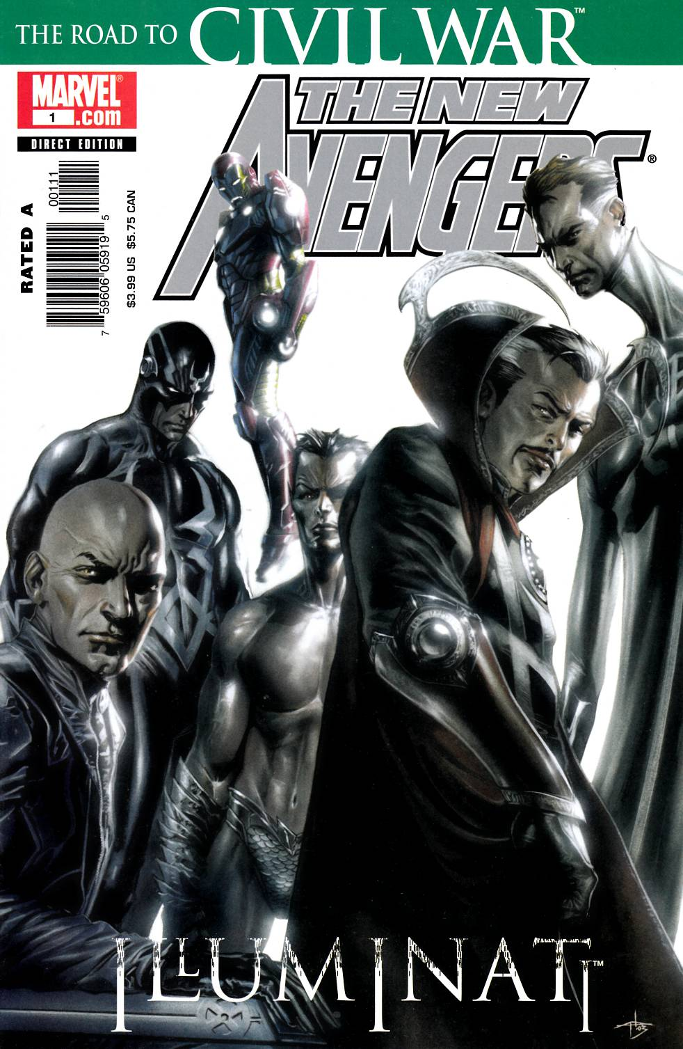 New Avengers Illuminati (One Shot) [Marvel Comic] THUMBNAIL