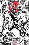 New Avengers #1 Campbell Sketch Incentive Cover [Comic] THUMBNAIL