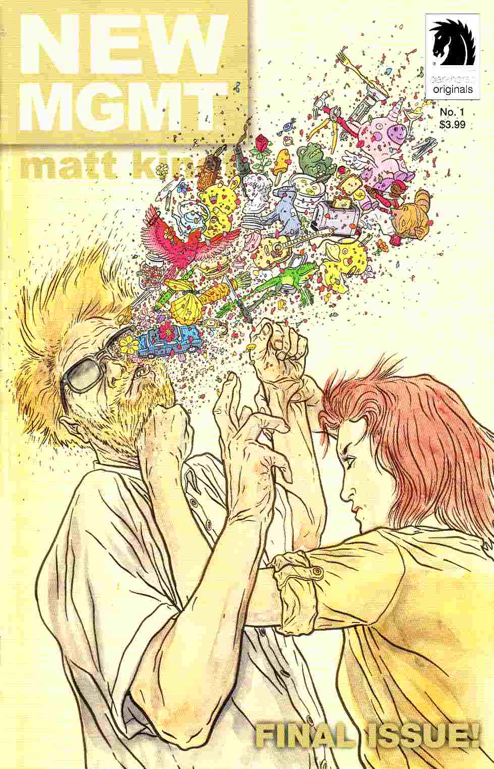 New MGMT #1 Darrow Variant Cover [Dark Horse Comic] THUMBNAIL