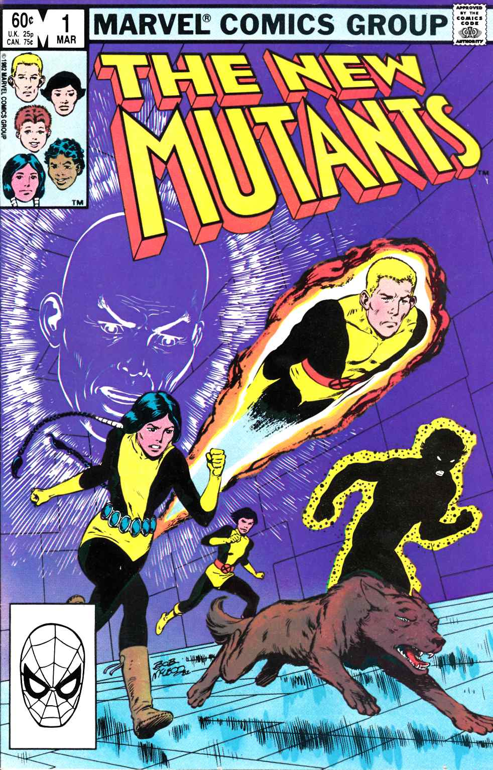 New Mutants #1 Very Fine Plus (8.5) [Marvel Comic] THUMBNAIL
