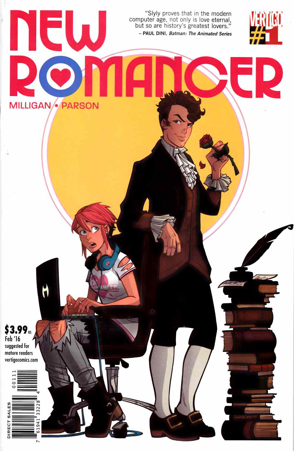 New Romancer #1 [DC Comic] THUMBNAIL