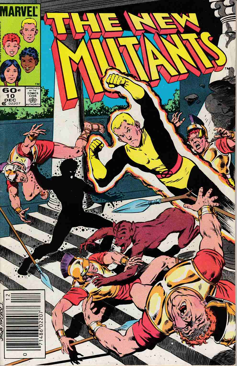 New Mutants #10 Newsstand Edition Fine (6.0) [Marvel Comic] LARGE