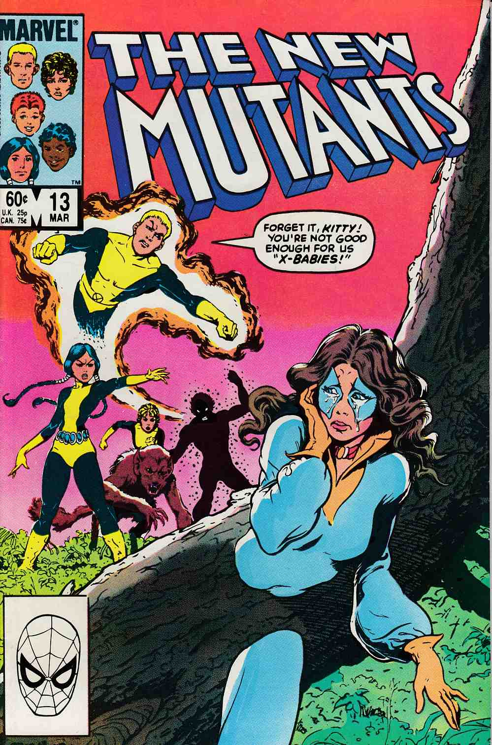 New Mutants #13 Very Fine/Near Mint (9.0) [Marvel Comic] THUMBNAIL