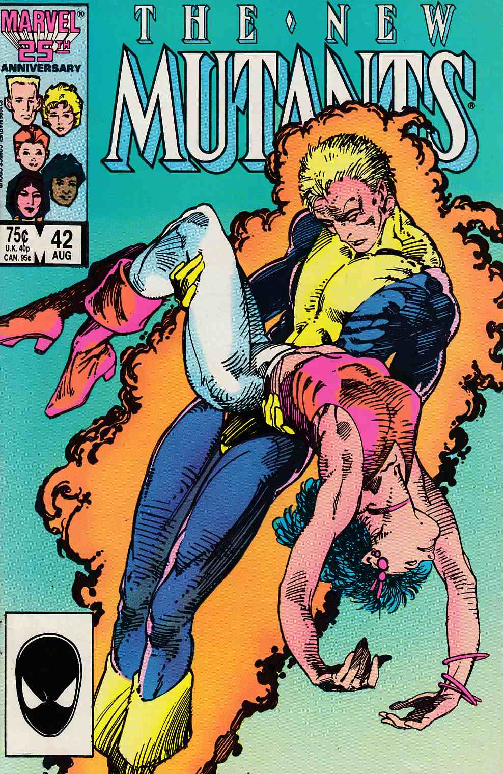 New Mutants #42 Fine (6.0) [Marvel Comic] LARGE