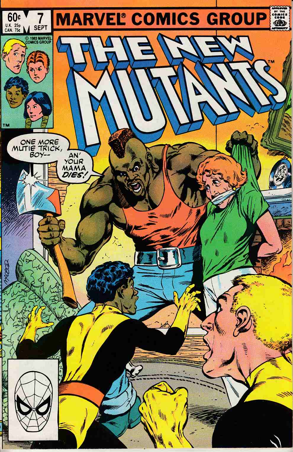 New Mutants #7 Very Fine (8.0) [Marvel Comic] LARGE