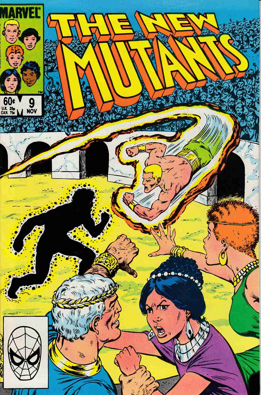 New Mutants #9 Very Fine Minus (7.5) [Marvel Comic] THUMBNAIL