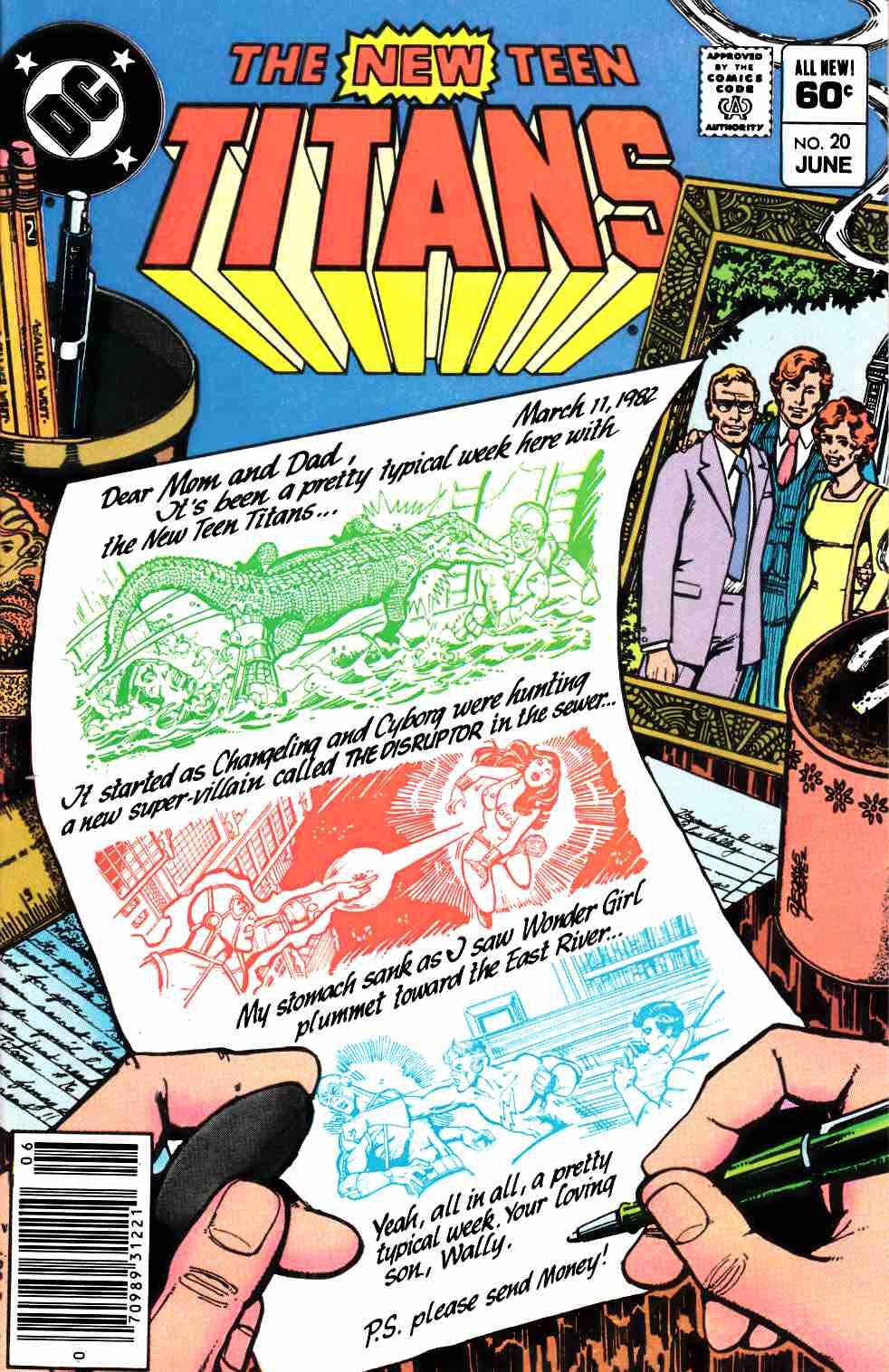 New Teen Titans #20 Newsstand Edition Very Fine (8.0) [DC Comic] –  Dreamlandcomics.com Online Store