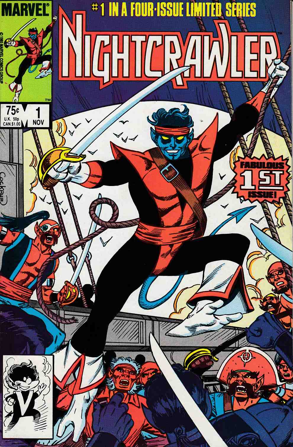 Nightcrawler #1 Near Mint (9.4) [Marvel Comic]