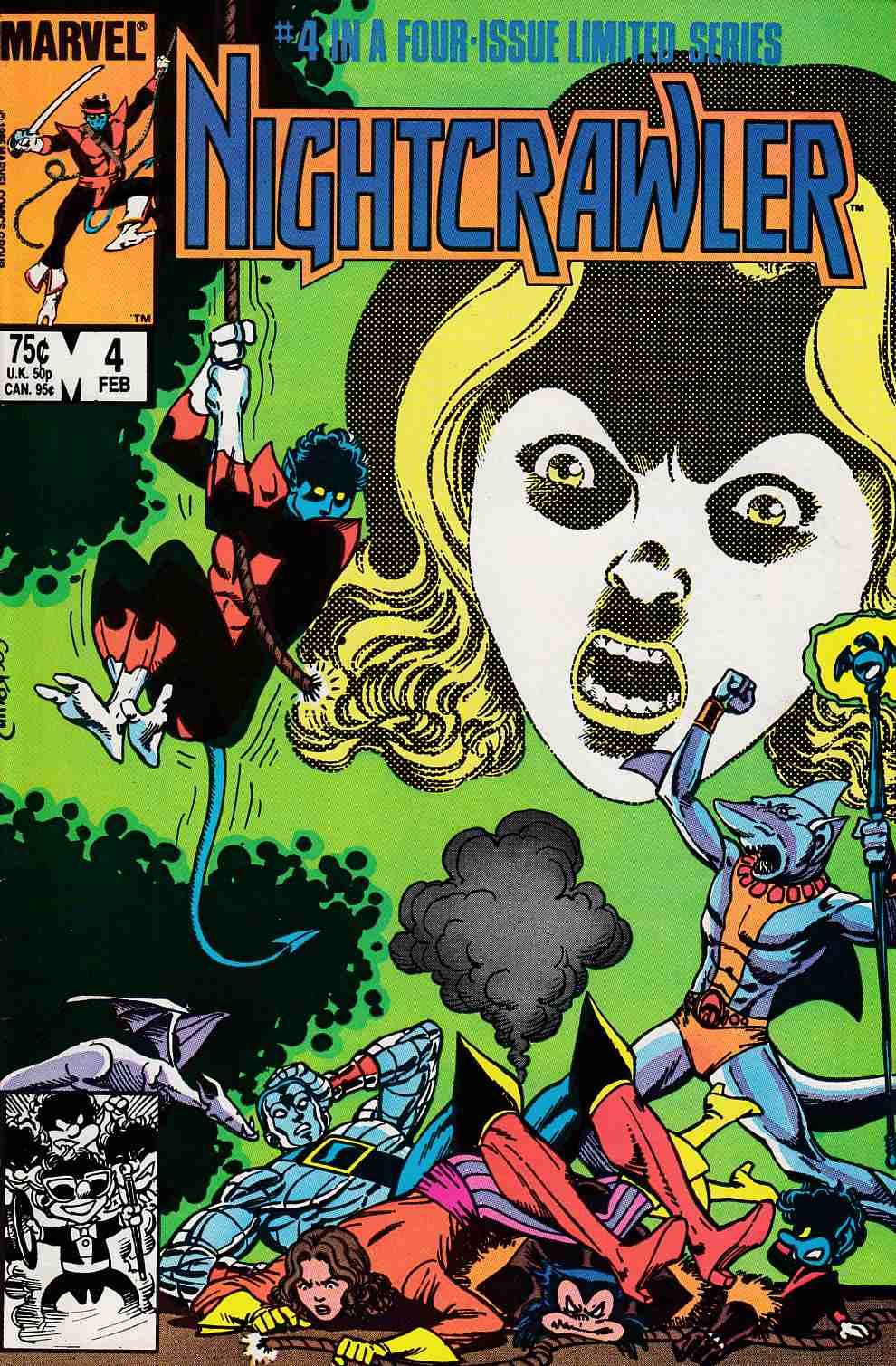 Nightcrawler #4 Very Fine (8.0) [Marvel Comic]