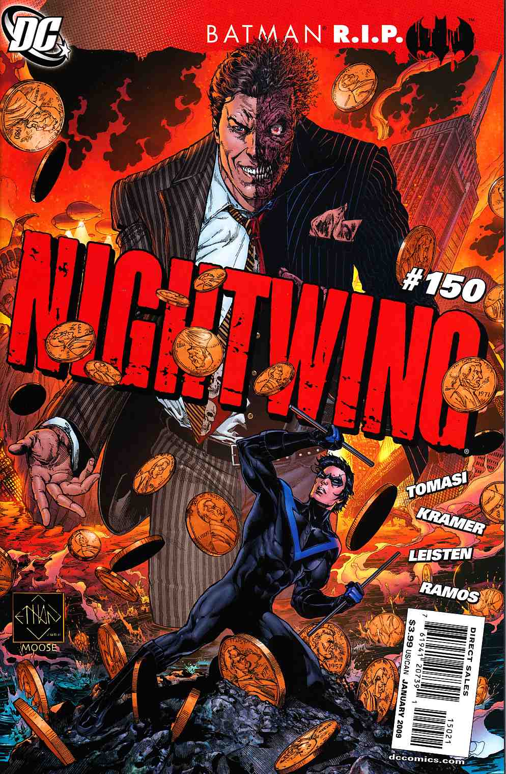 Nightwing #150 Van Sciver Variant Cover [DC Comic]