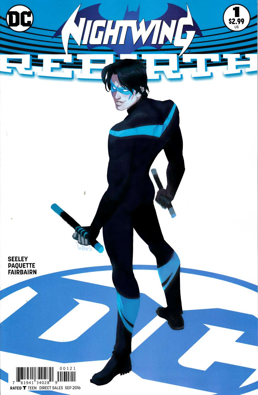 Nightwing Rebirth #1 Tarr Variant Cover [DC Comic] LARGE