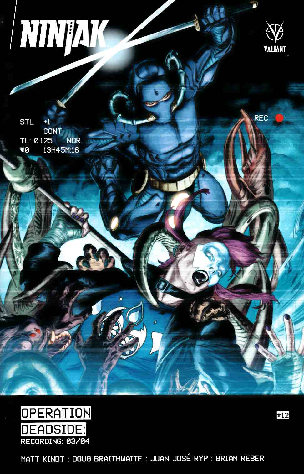 Ninjak #12 Cover A- Braithwaite [Valiant Comic] THUMBNAIL