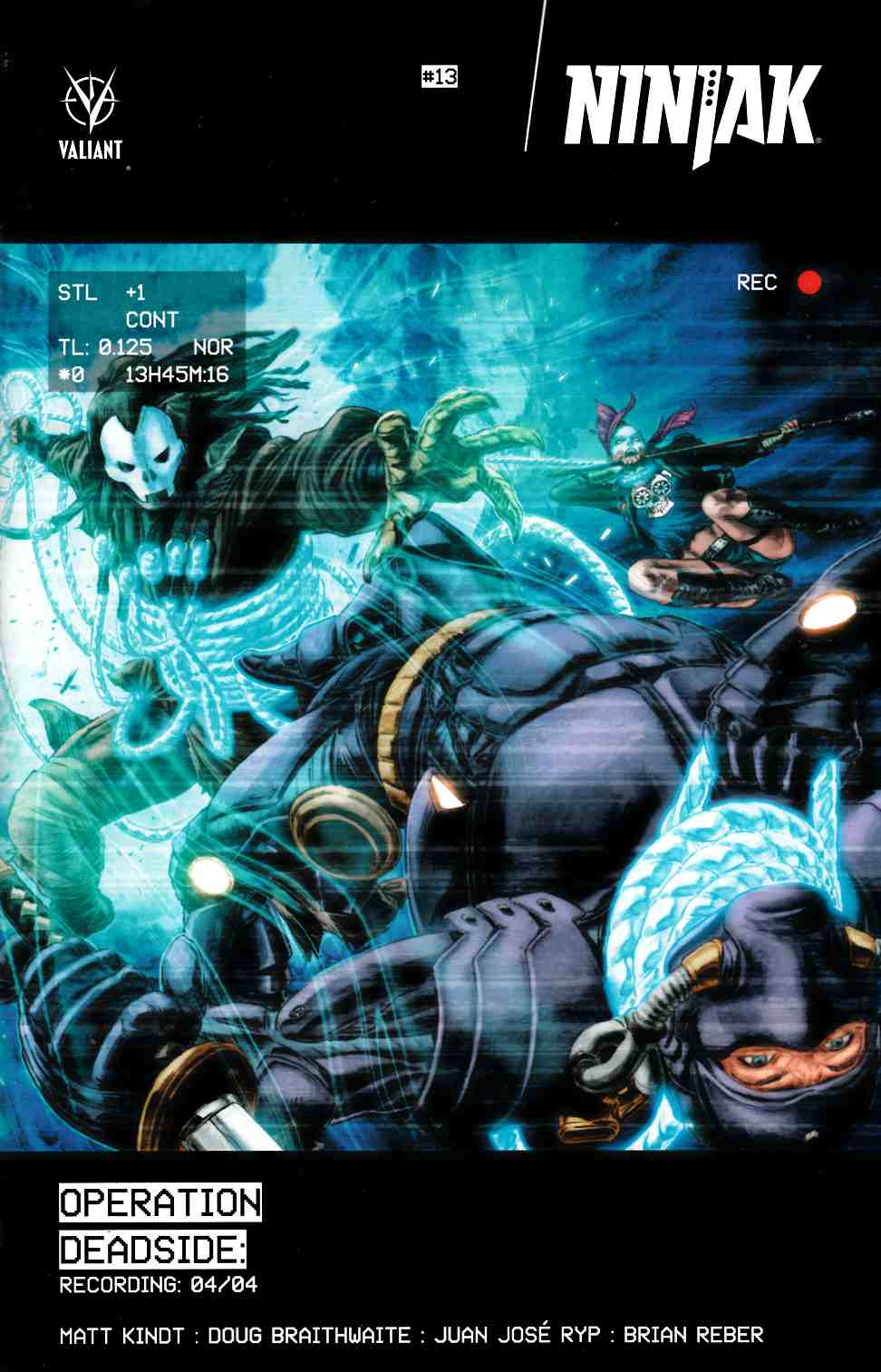 Ninjak #13 Cover A- Braithwaite [Valiant Comic] THUMBNAIL