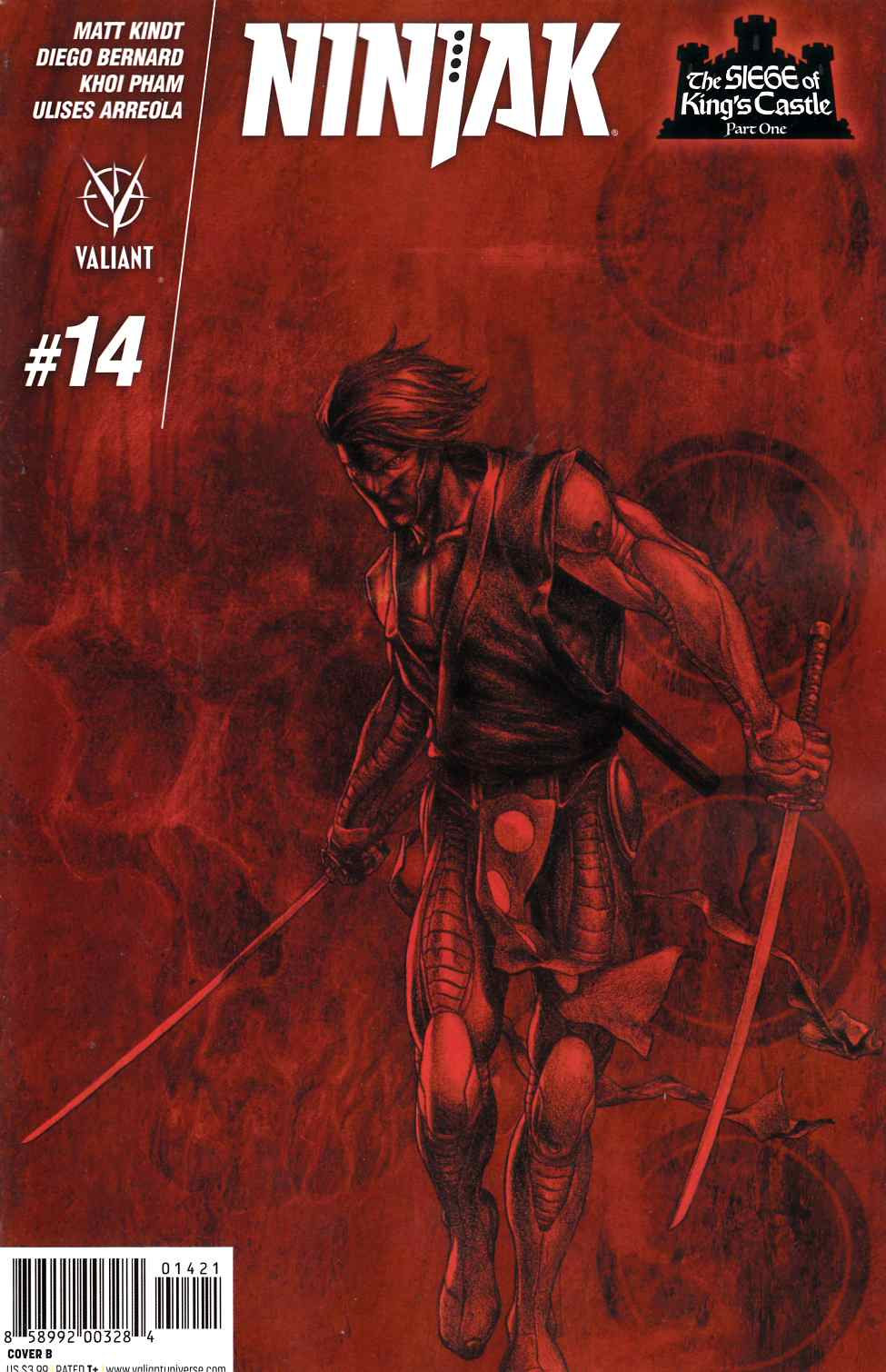 Ninjak #14 Cover B [Valiant Comic] THUMBNAIL