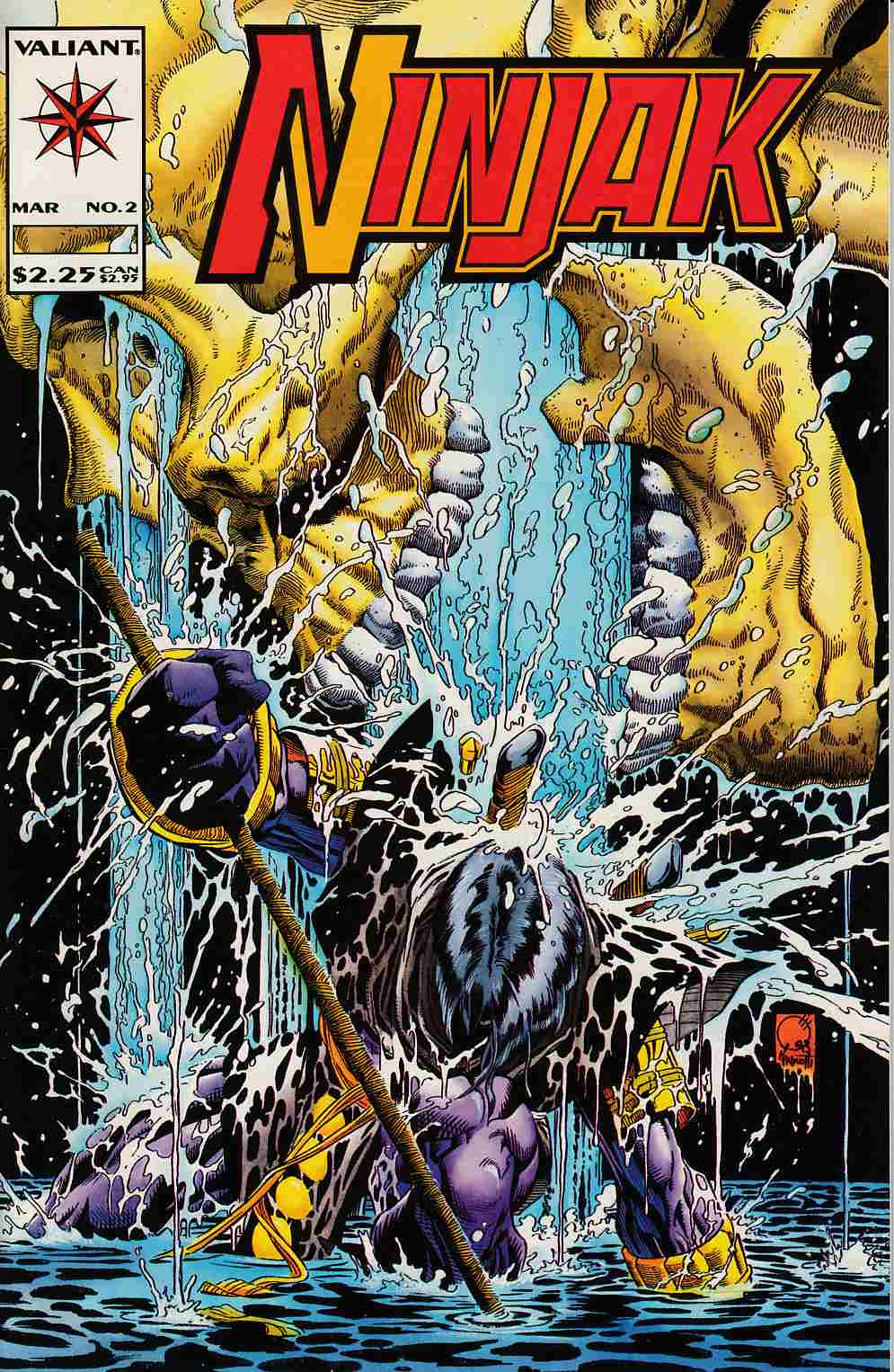 Ninjak #2 Near Mint (9.4) [Valiant Comic]