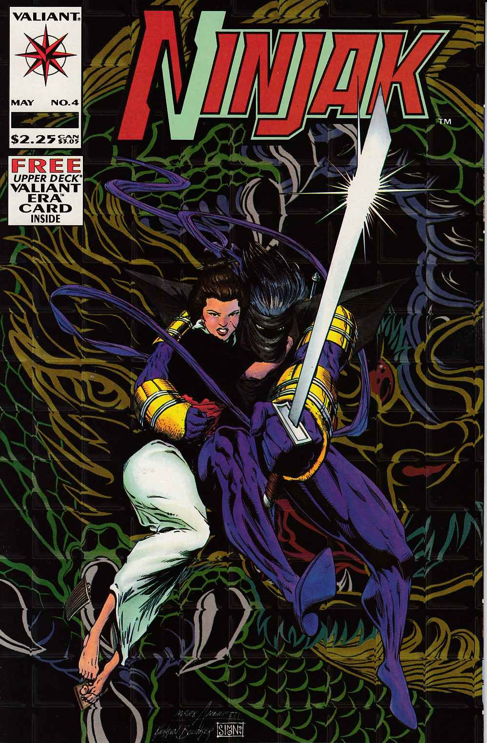 Ninjak #4 Near Mint (9.4) [Valiant Comic]_THUMBNAIL