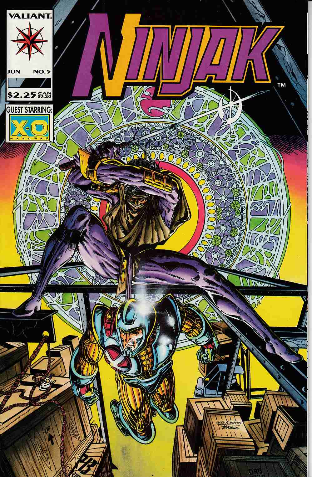 Ninjak #5 Near Mint (9.4) [Valiant Comic]_THUMBNAIL