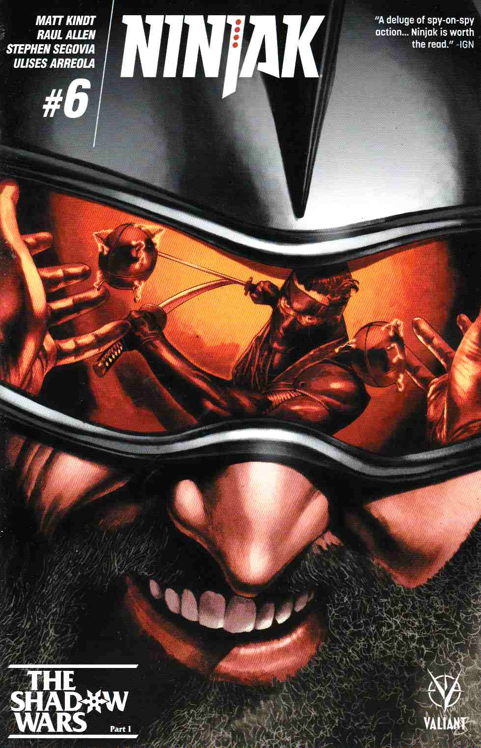 Ninjak #6 Cover A- Suayan [Valiant Comic] THUMBNAIL