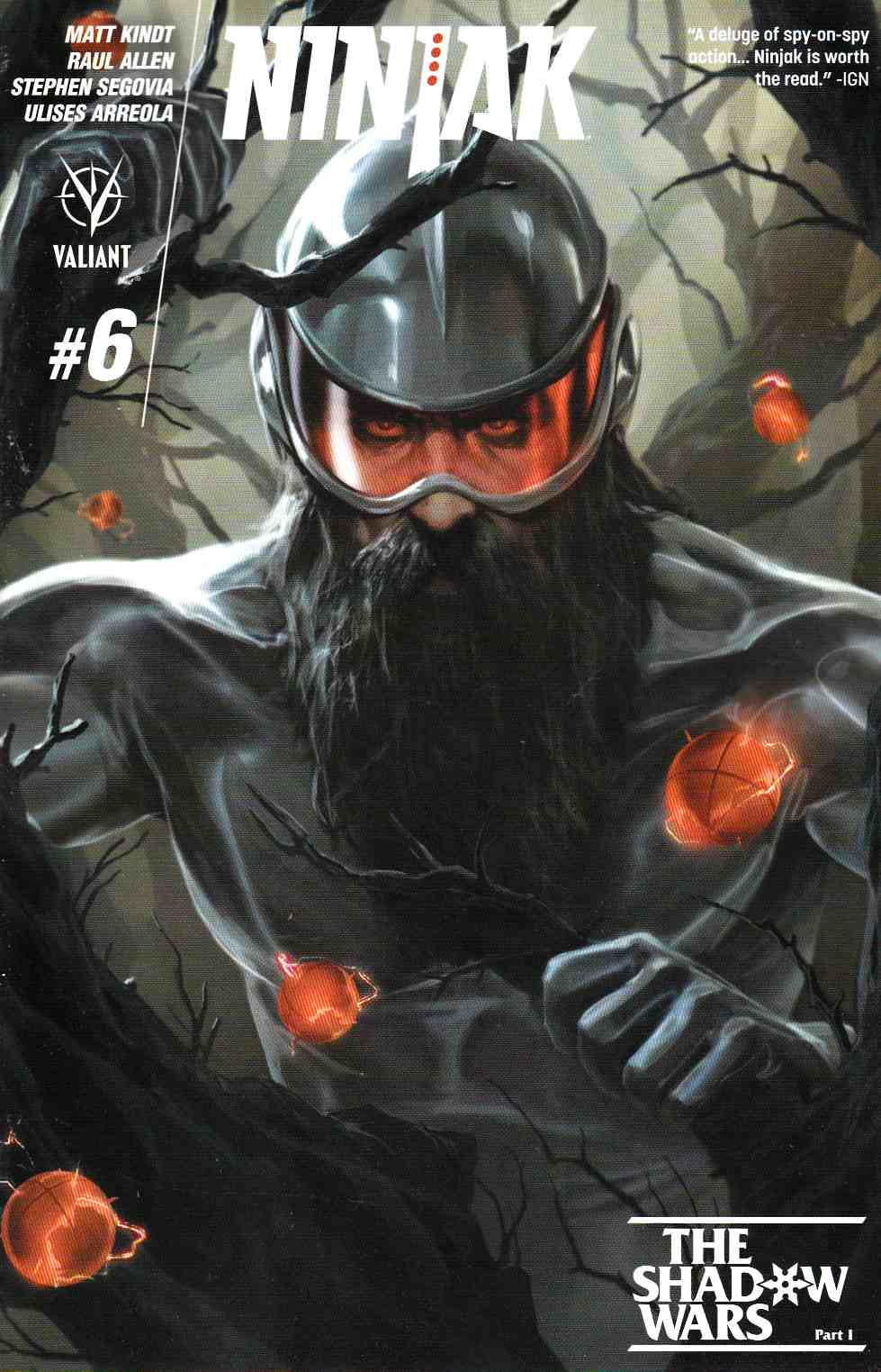 Ninjak #6 Cover B- Kevic-Djurdjevic [Valiant Comic] THUMBNAIL
