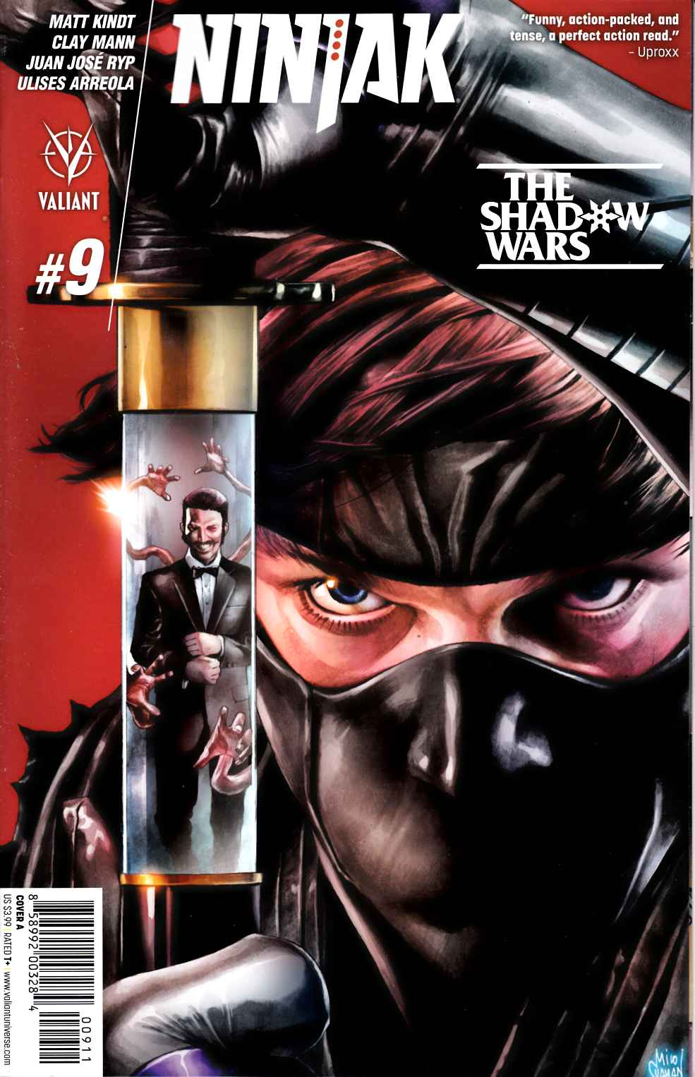 Ninjak #9 Cover A- Suayan [Valiant Comic] THUMBNAIL