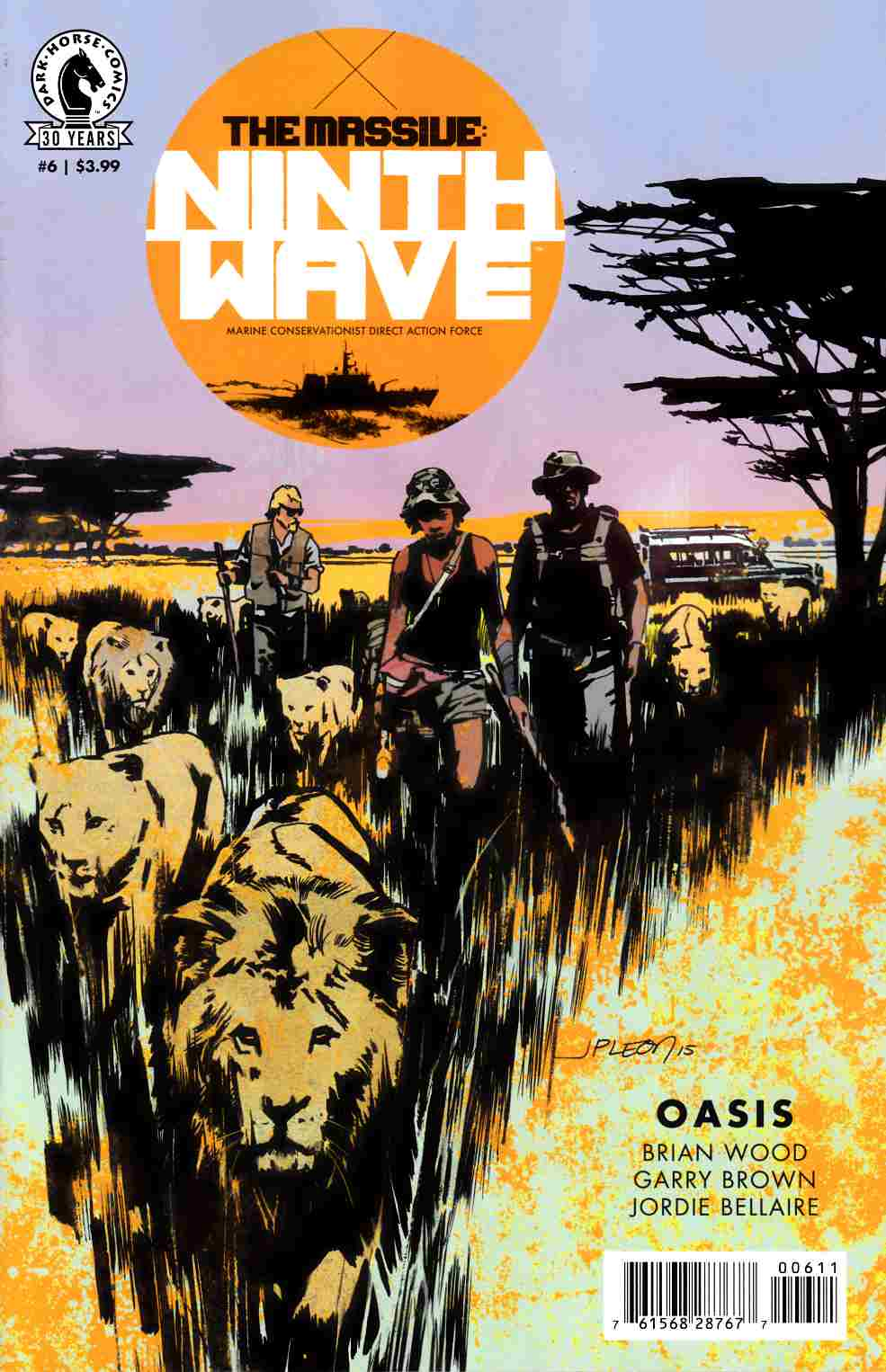 Massive Ninth Wave #6 [Dark Horse Comic] LARGE